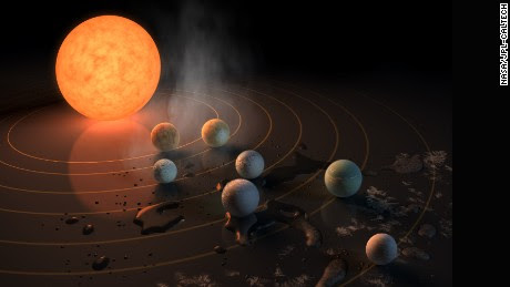 Astronomers Discover 7 Earth-Sized Planets Orbiting Nearby Star | JO LEE MAGAZINE