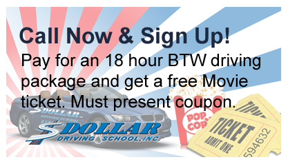 Drivers Ed in Woodland Hills, CA | Dollar Driving School