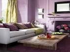 Color Inspiration Purple Living Room | Decorating Design
