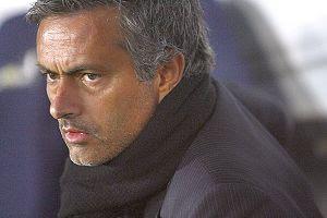 Football : Manager Jose Mourinho of Inter duri...