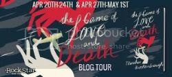 The Game of Love and Death Blog Tour