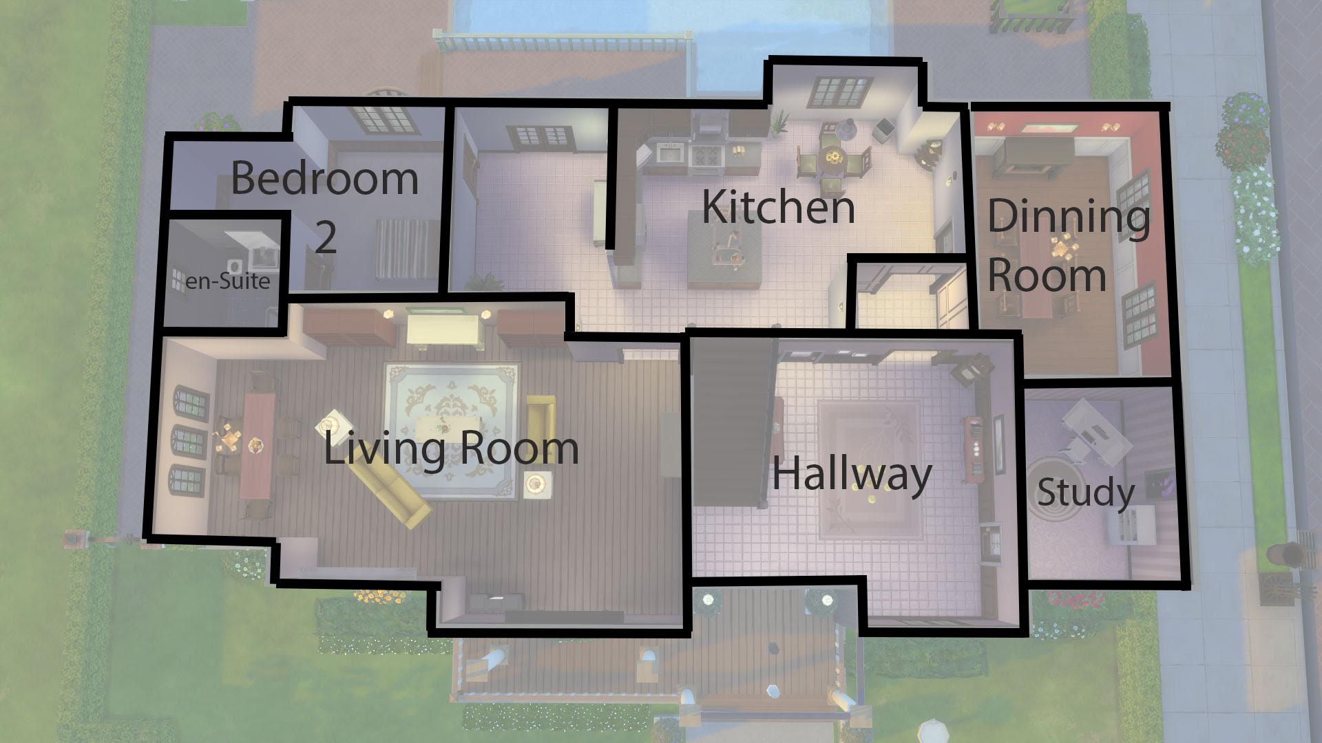 The Sims 4 Simple House Design Modern Design
