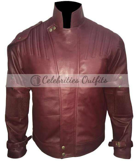 Chris Pratt Guardians Of The Galaxy 2 Red Jacket Costume