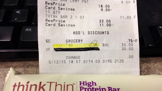 Protein bar receipt triggers city of Phoenix investigation