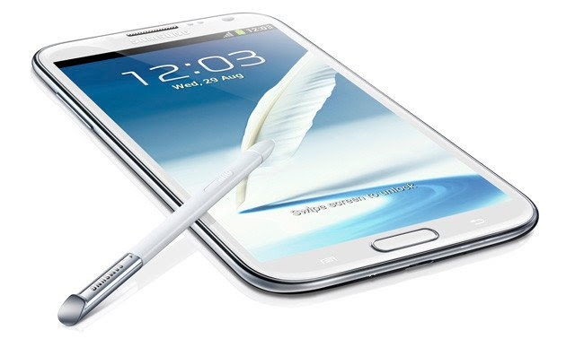 Samsung Galaxy Note 2 GT-N7100 Android smartphone
