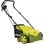 Sun Joe AJ801E Electric Lawn Dethatcher with Collection Bag, 12A, 13""
