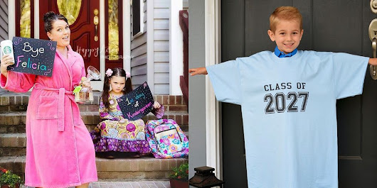 Back-to-School Picture Ideas - How to Pose Kids for 1st-Day Photos