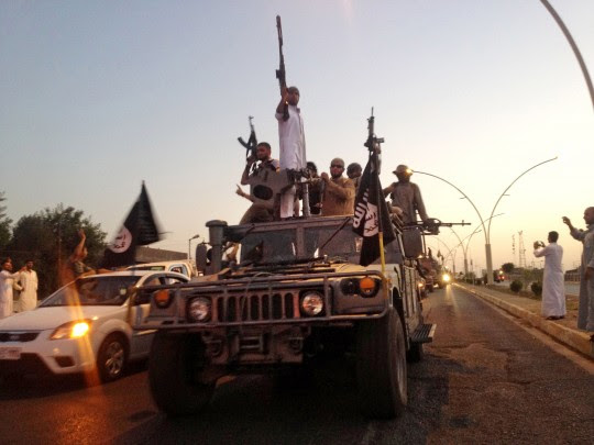 Fighters from the Islamic State / AP