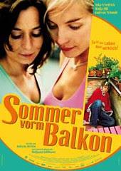 Nadja Uhl sulla locandina di 'Sommer vorn Balkon'