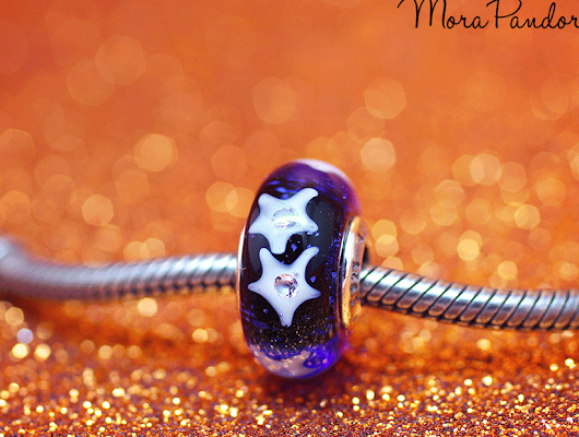 Review: Starry Night Sky murano from Pandora Winter 2016 | Mora Pandora