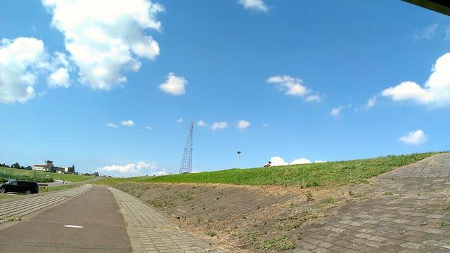 空がキレイです。
