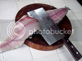 homemade fish paste