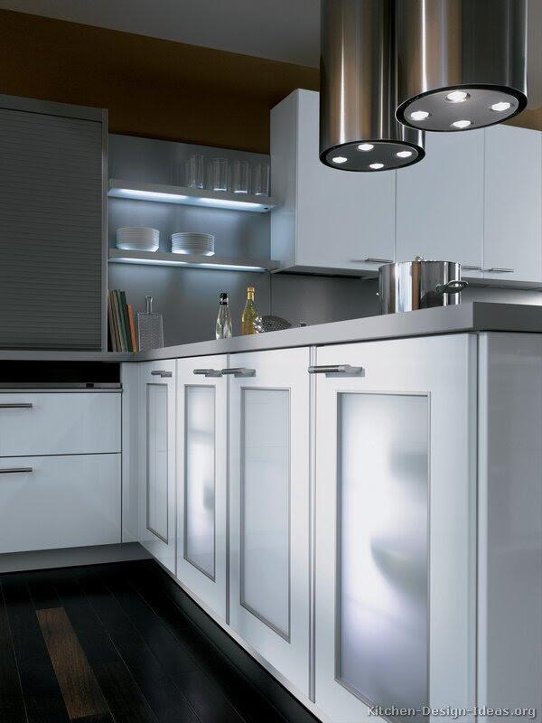 A Contemporary Two Tone Kitchen Under A Loft