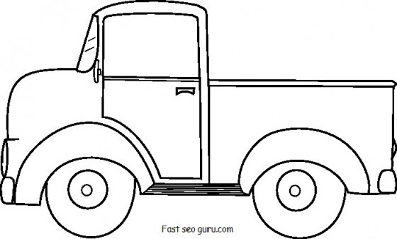 34 Ford Truck Coloring Pages - Free Printable Coloring Pages