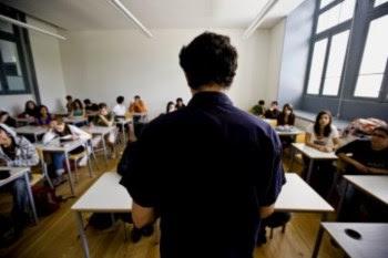 Dia de exame no Liceu Pedro Nunes, em Lisboa