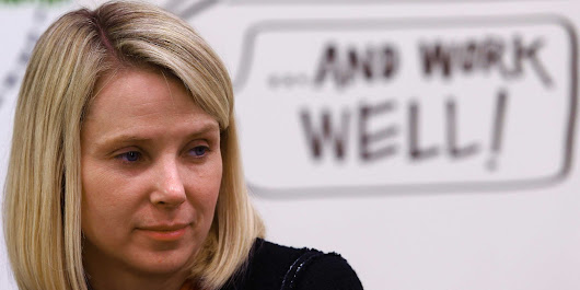 Is Marissa Mayer about to go to war with Google in search? These screenshots suggest yes