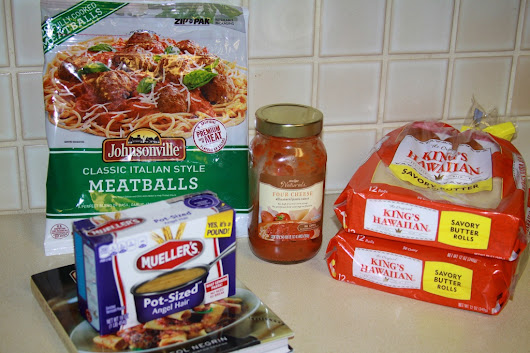 our basic take on spaghetti and meatballs at our home {#meatballmasters}