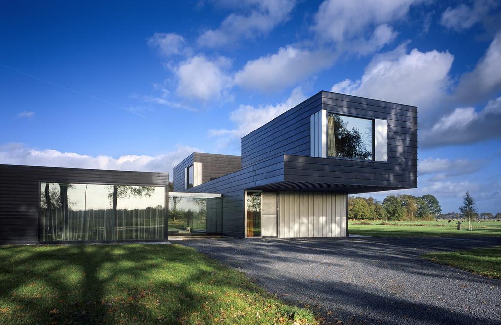 Villa Vriezenveen by Zecc Architecten | DigsDigs