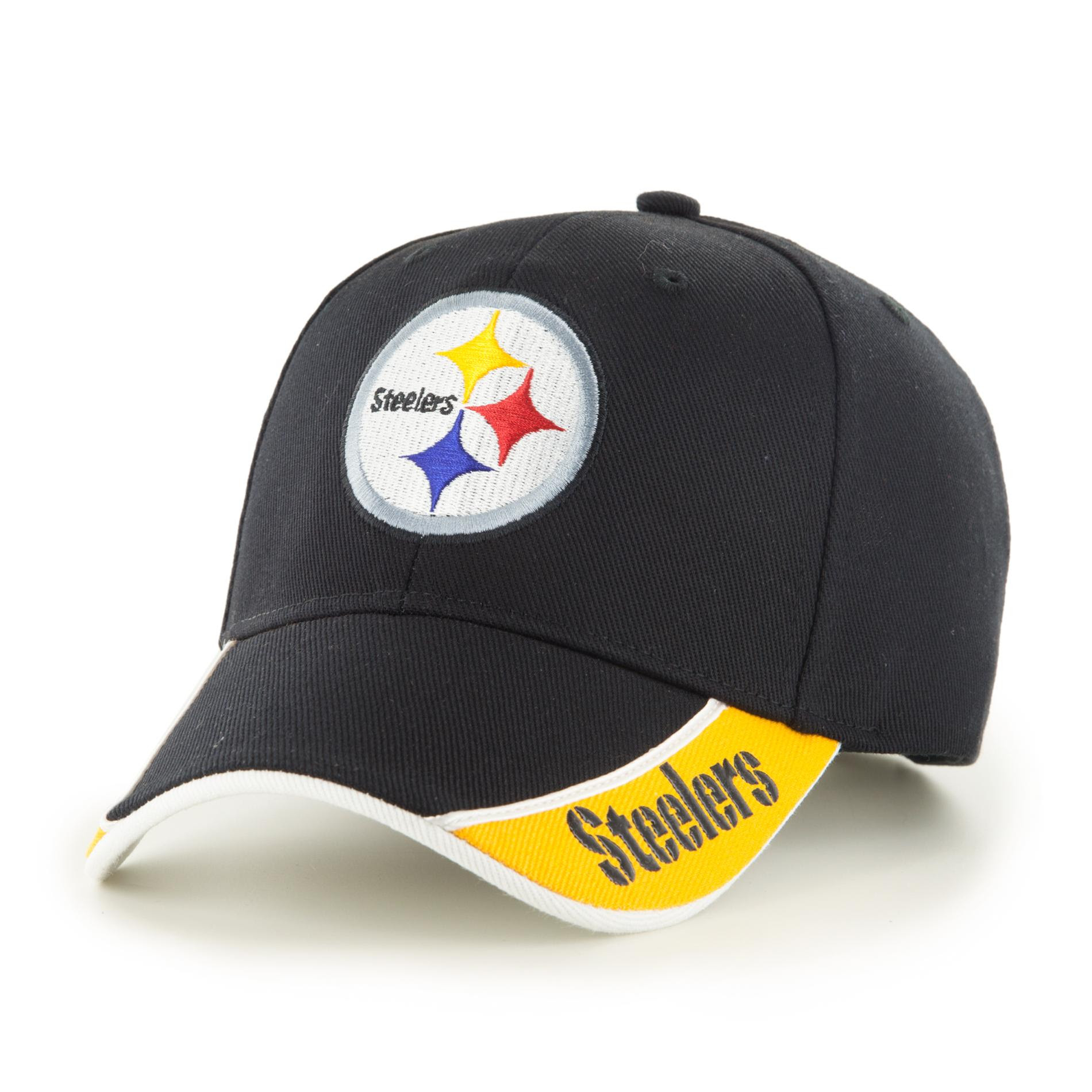 NFL Pittsburgh Steelers Mens Curved Brim Hat
