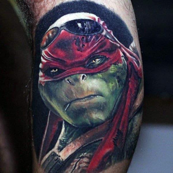 Ninja Turtle Tattoo Best Tattoo Ideas