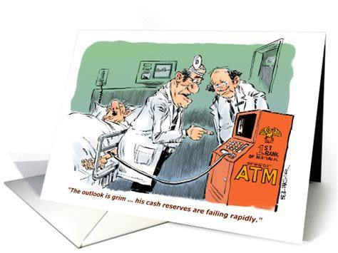 Amusing surgical best of luck card (1221438)
