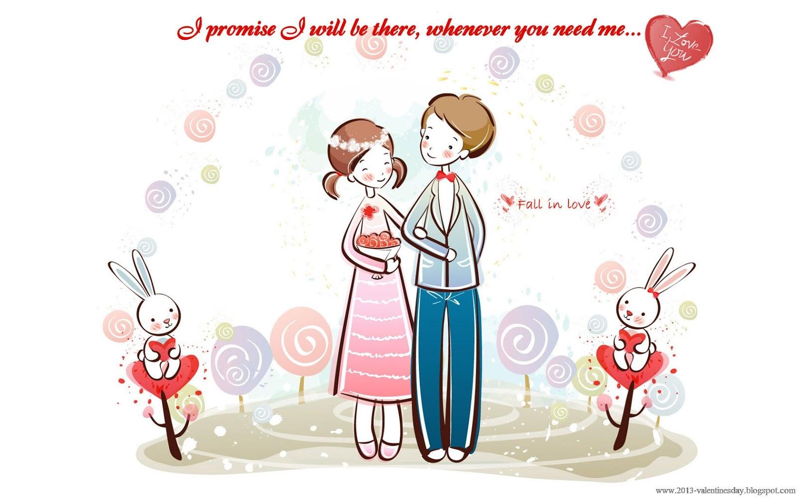 58 Gambar Kartun Love Romantis Gratis Terbaik