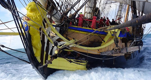 Art Opportunities Coincide With the Visit of L'Hermione to Castine