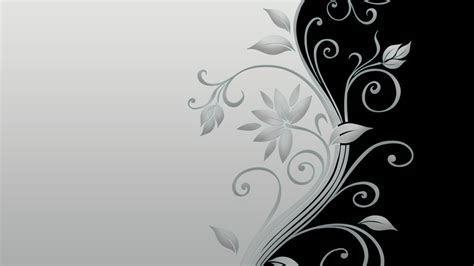 Schwarz und Weiß Blumenbilder