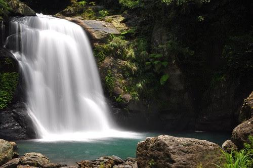 內洞森林遊樂區-上層瀑布