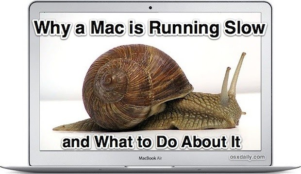 Did You Know?: 9 Reasons Why a Mac is Running Slow and ...
