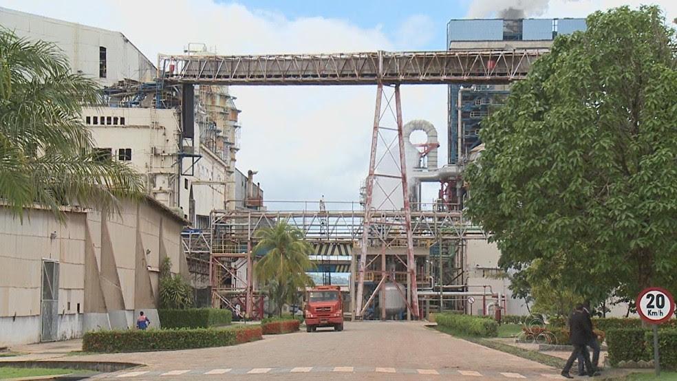 Empresa de celulose está situada no Vale do Jari, Sul do Amapá  (Foto: Reprodução/Rede Amazônica)
