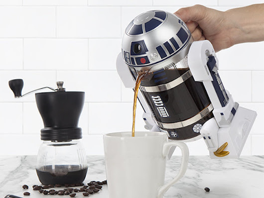 This R2-D2 Coffee Press Will Wake You Up with the Force of Caffeine