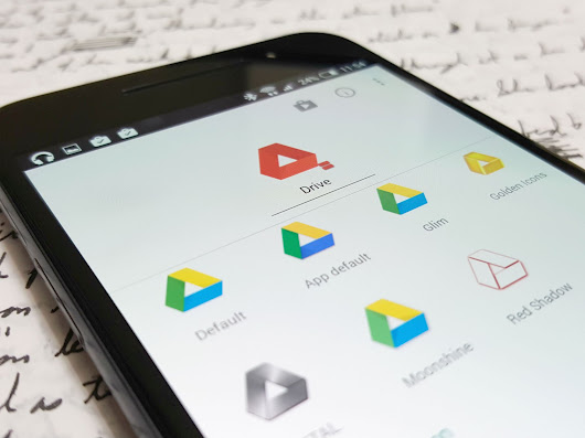 Google Drive is an Android themer's best friend