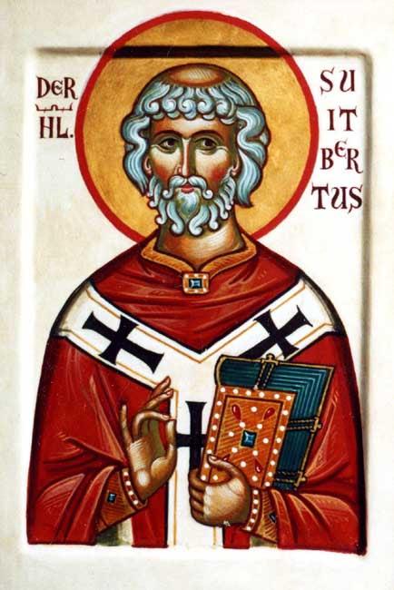 img ST. SUITBERT, Suidbert, Swithbert, the Younger, Bishop of Werden in Westphalia