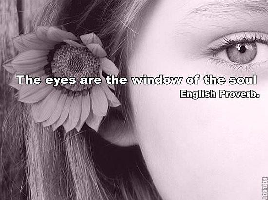 The Eyes Are The Window Of The Soul Quote Picture