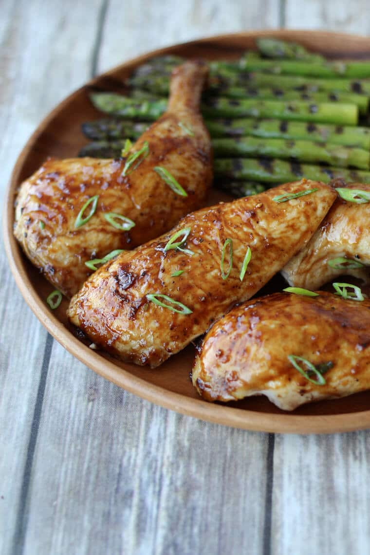 Gluten Free Beer Can Chicken with Asian Glaze | Father's ...