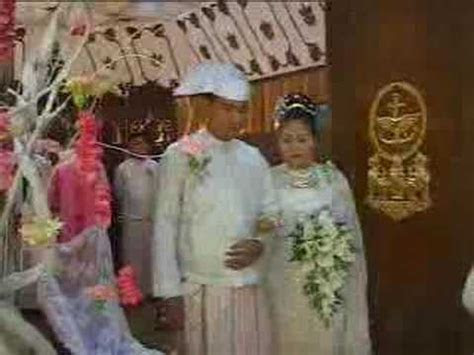 Myanmar Wedding of Burma Than Shwe's daughter   9of24