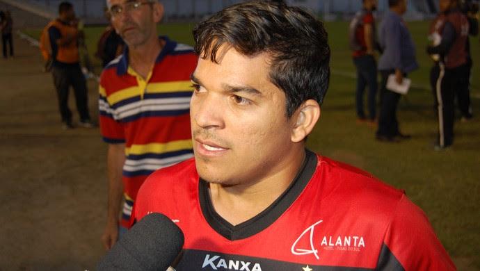 Renatinho, atacante do Campinense (Foto: Silas Batista / GloboEsporte.com)
