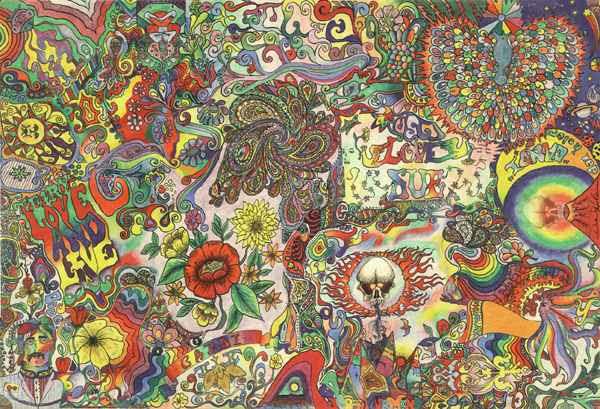 psychedelische kunst