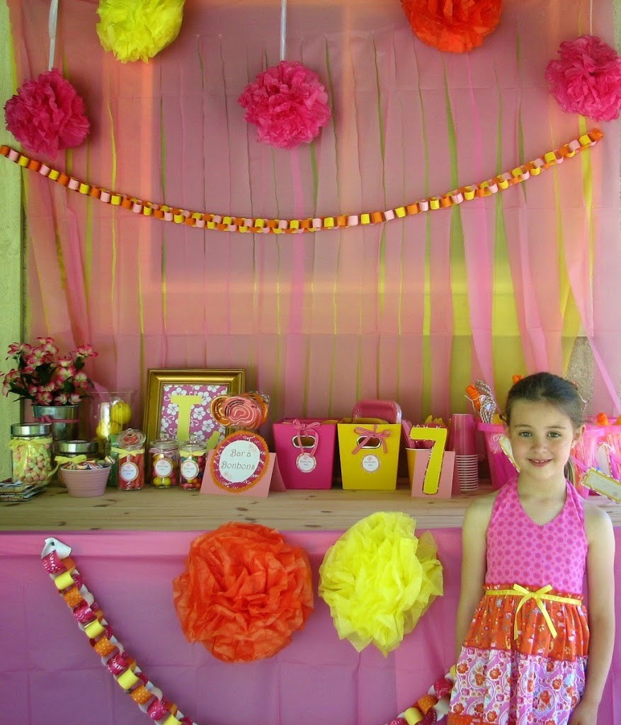 Summer Birthday Party Ideas Lilys 7th Birthday Party Do It All