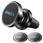 Air Vent Phone Holder, MEIDI Universal Magnetic Phone Car Mount 360 Rotation Cell Phone GPS Holder Compatible iPhone Samsung HTC and Mini Tablets(