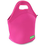 Venvex Neoprene Insulated Lunch Bag, Reusable Lunch Tote Bag Pink