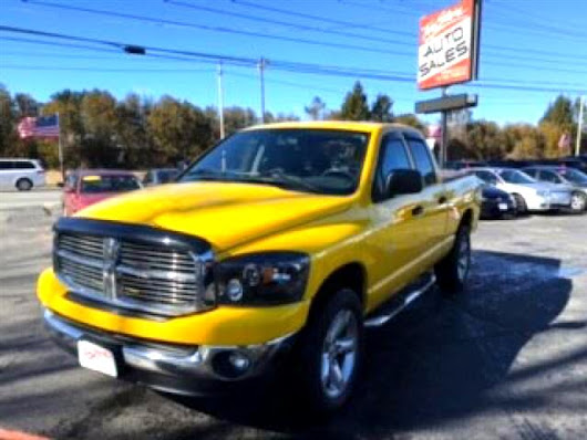 Used 2008 Dodge Ram 1500 SXT Quad Cab Long Bed 4WD for Sale in Salem NH 03079 Toy Store Auto Sales