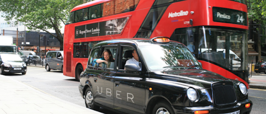 Uber Launches UberTaxi for London Cabbies