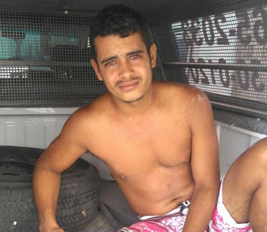 Acusado foi preso após agredir companheira de 19 anos na zona rural de Santaluz | Foto: Notícias de Santaluz