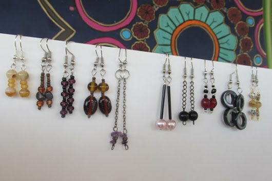 ten pair earring lot $18.00