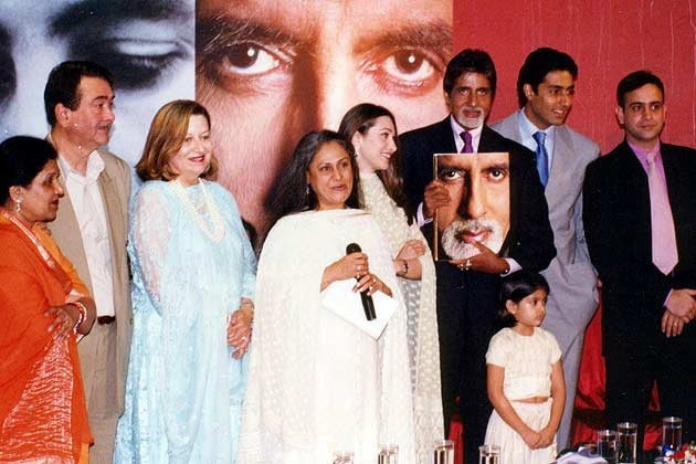 Abhishek Karisma family
