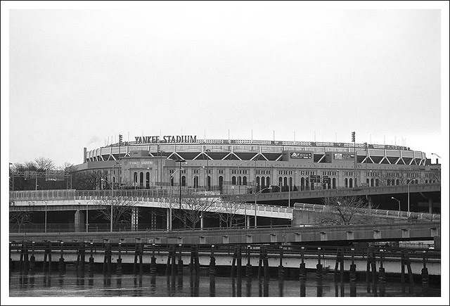 Yankee Stadium In Winter