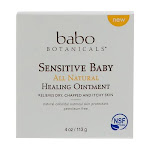 Sensitive Baby All Natural Healing Ointment By Babo Botanicals, 4 Oz