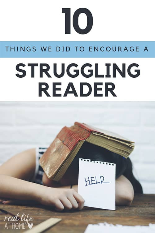 10 Strategies for Parents to Help Struggling Readers at Home